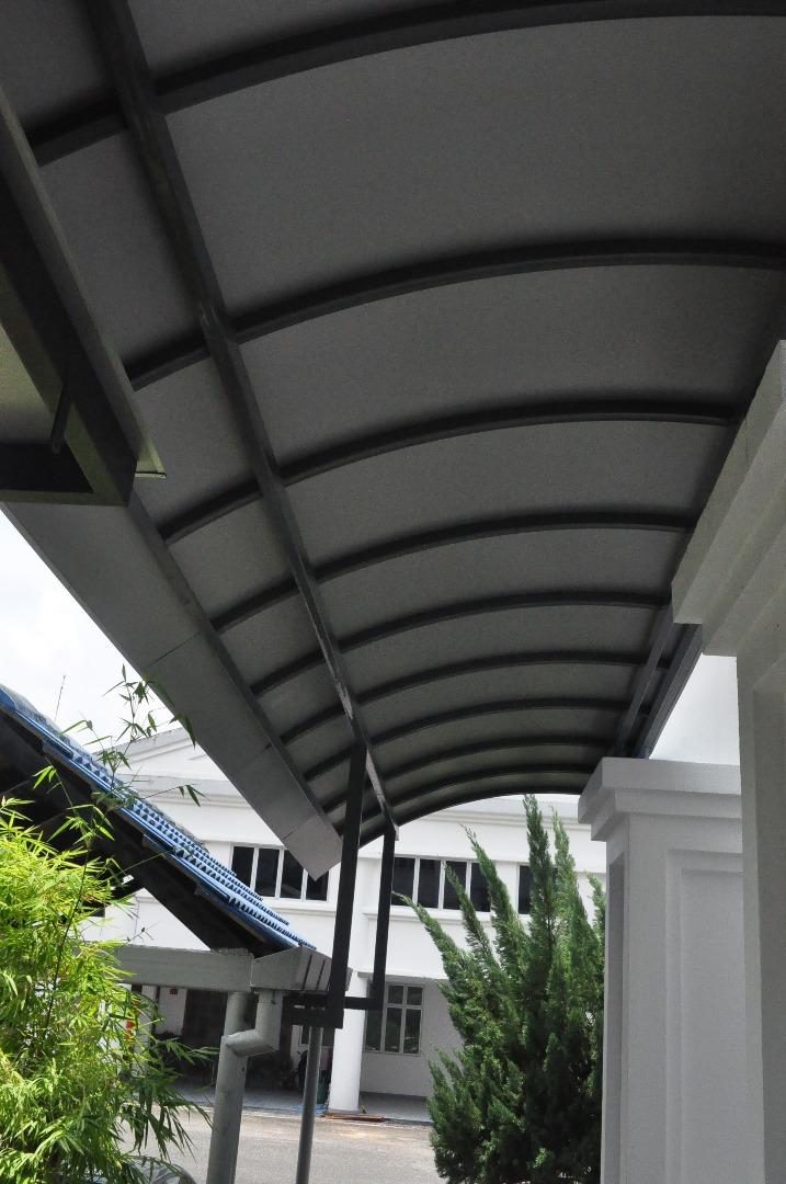 Aluminium Roof Awning I Supplier Malaysia I Sabah I Vitally